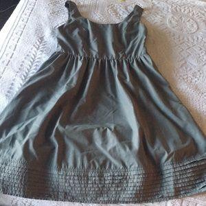 Tevolio gray bridesmaid/ tea dress.